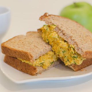 Tofu Eggless Salad Sandwich