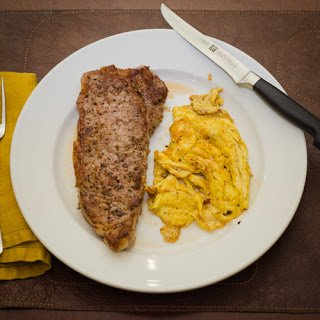 Diner Style Steak and Eggs - Simple Awesome Cooking